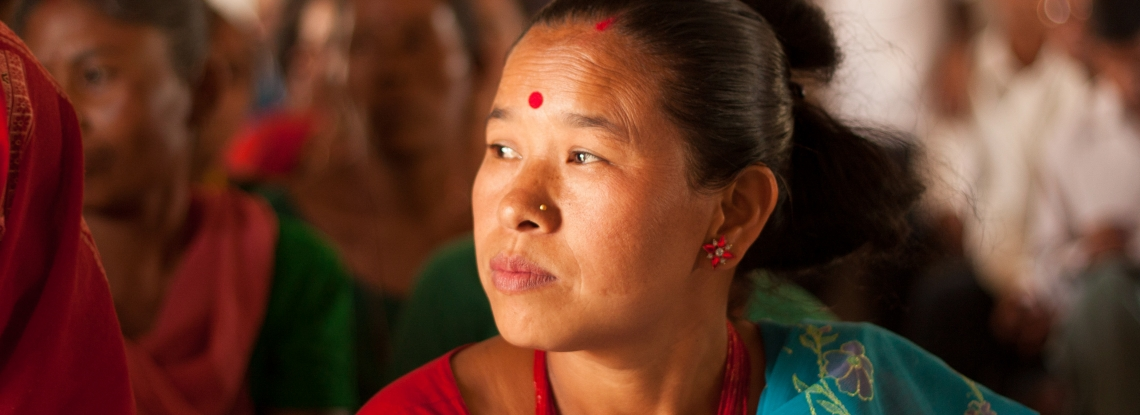 A Nepalese woman.