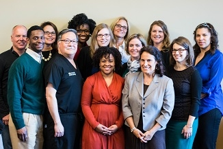 A group of providers from a Beyond the Pill training