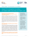 Policy Brief: Contraceptive Counseling