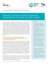Policy Brief: Medicaid Funding